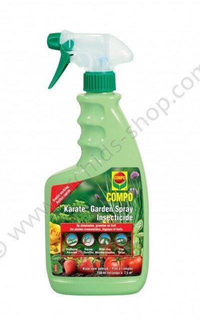 Compo insectenbestrijder spray Karate Garden 750ml
