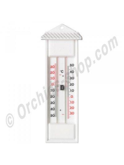 Buitenthermometer min./max. Wit kuntstof