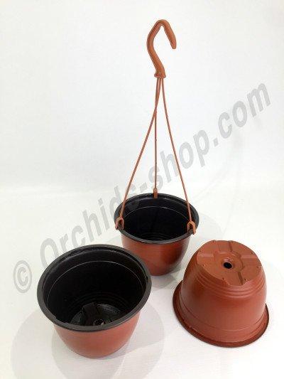 Terracotta Hangpot Met Hanger (15 cm) (5 st.)