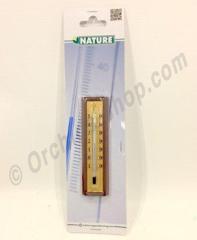 Muur thermometer 12,5 x 3,5 x 1,5cm