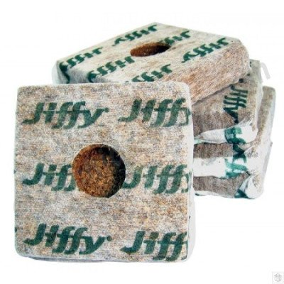 Jiffy Grow Block 10 x 10 x 6.5 cm