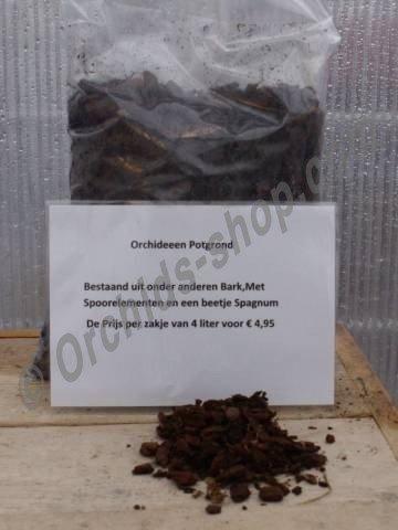 Orchideeën Potgrond (Bark fractie 4)  12 liter