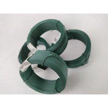 Binddraad Groen Rubber/Plastic coating 50M